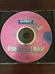 Expert Software Greeting Card Maker Cd For Windows 95 Cd Only