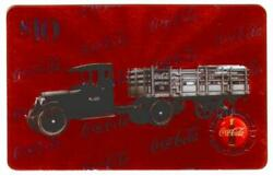 Coca-cola And03996 10 Microlined Coke Truck 2 And039no. 60 Coca-cola Bot...and039 Phone Card