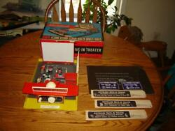 Remco Movie Land 303 Drive In Theater 1959 Near Mint Set Cars Movies Billboards