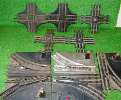 Marx Train Track Switch / Crossing Lot 10 Manual Control Switch
