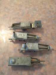 Vintage Lot Of 4 Culver Stearns Carter Light Switch 863824 Push Pull Rat Rod