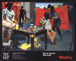 Kerry James Marshall Poster Offset Lithograph New York 2016 Large Rare Sold Out