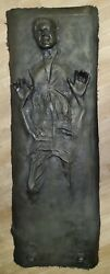 Star Wars Life Size Han Solo In Carbonite Prop Realistic Display
