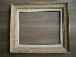 Fortified Frame Wood Moulding Antique 50x40 Deco Painting Canvas 4.4lbs
