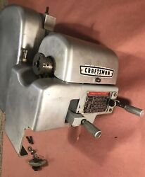 """Complete Atlas Craftsman 12"""" Lathe Headstock Asmby 1-1/2 8tpi With Covers"""