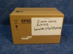 Epson Elplm15 Middle-throw Zoom Lens For Pro G7000 And Pro L0000 Series