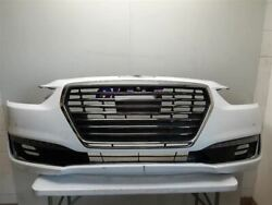 2017 Genesis G90 Ultimate Front Bumper Assembly Grille Lamps Radar Camera White