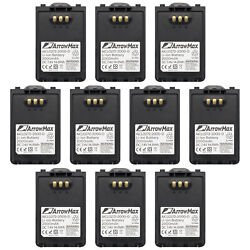 10pc Customer Service Rechargeable Battery Bp-271 Bp-722 For Icom Ic-51e Id-51e