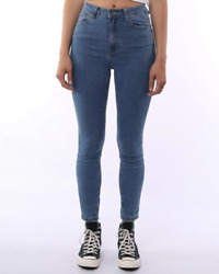 Silent Theory Vice High Skinny Jean - Rrp 99.99 - Free Post