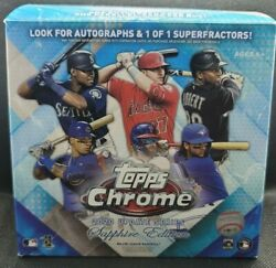 2020 Topps Chrome Update Sapphire Edition Complete Set Must See Every Card
