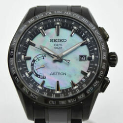Free Shipping Pre-owned Seiko Astron Gps Solar Limited Watch Sbxb091