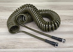 Water Right 300 Series 3/8 Coil Garden Hose, Drinking Water Safe, 50-foot,