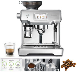 New Breville Bes990bss The Oracle Touch Espresso Machine Silver - Free Post
