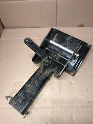 """Sears Craftsman Lawn Mower Tractor 46"""" Hand Lift Front Snow Blade Mount Bracket"""
