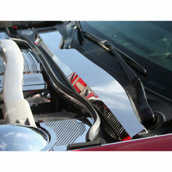 Wiper Cowl Cover 4p For 2010-2015 Chevy Camaro [stainless Steel/polished]