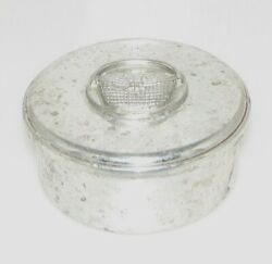 Woodbury Pewter 3 Covered Dish Container Holder W/basket For Jewelry Candy Food
