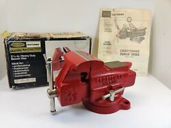 Nos Vintage Craftsman 3-1/2 Vise 391.5180 Made In Japan New In Box With Papers
