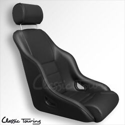 1965-73 Porsche 911-912 Rally Gt Sport Seat. All Leather