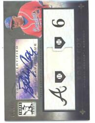 2010 Topps Tribute 2010 Topps Tribute Autograph Dual Relics Black Tar- Id29270