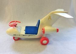 Super Rare Vintage 1970s Kusan American Airlines Riding Toy Airplane