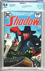 Shadow 1 Cbcs 9.4 Nm 1st App Of The Shadow Margo Lane Harry Vincent 1973