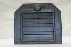 Original 1920and039s Pines Winterfront Automatic Shutter Grill Radiator Cover Shroud