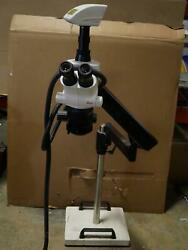 Leica S6d Stereozoom Microscope With Stand - Free Shipping