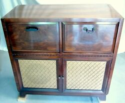 Antique Old Tube Radio 1930s Zenith Admiral Record Player Good Working/cosmetic