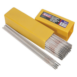 Wess5040 Sealey Welding Electrodes Stainless Steel Ø4 X 350mm 5kg Pack