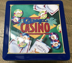 Vintage - 1994 Camel Casino Poker Set Complete With Cards And Chips