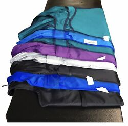 Lot Of 9 Pulse Medical Earthlite Stretch Back Lead Operator Aprons Vests And Skirt