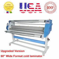 Local Pickup 60and039and039 Full-auto Low Temp Wide Format Cold Laminating Machine - 2200w