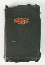 Vintage A. J. Holman The Holy Bible Old And New Testament Pocket Size Bible