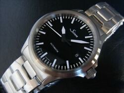 [new] Sinn 556.m Automatic Date Stainless Steel Black Dial Menand039s Watch 38.5mm
