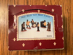 Mini Black Jazz Band Figurines 1997 Young's Inc. Total Of 12 Figurines - New