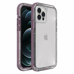 Lifeproof Next Series Case For Iphone 12 And Iphone 12 Pro - Napa Clear/purple