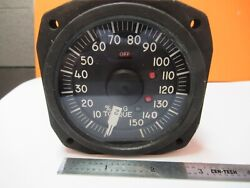 Simmonds Indicator Torque 472638-3 Aircraft Instrument As Pictured 4t-a-13