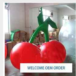 Free Shipping 1m Inflatable Cherry Balloon For Advertisement