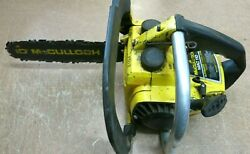 Mcculloch Mac110 Chainsaw For Parts Will Not Start
