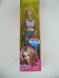 Britney Spears Doll Exclusive Pepsi Commercial Outfit By Play Along 2001 Nrfb