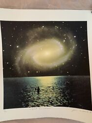 Joe Webb Night Swimmers + 50x50cm + Signed And Numbered + Coa Inc.