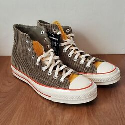 Converse All Star High Tops Olive Green Corduroy Unisex Menand039s 7.5 / Womenand039s 9.5