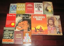 Christian Catholic Church Religious Paperback Harcover Book Lot 3
