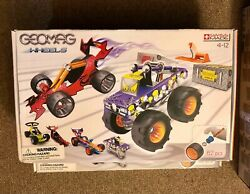Geomag Wheels Construction Set Swiss Made Ages 4-12 New 62pcs
