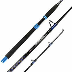 Fiblink 1-piece Conventional Boat Rod Saltwater Offshore Graphite Casting Fis