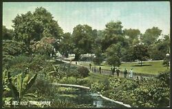 London. The Dell, Hyde Park. Early Printed Postcard By P.p. And P. And Co. Croydon