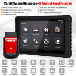 Full System Obd2 Diagnostic Scanner Tool Bluetooth With Tablet Srs Abs Srs Sas