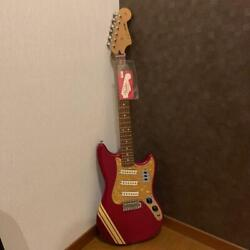 Fender Cyclone Ii Candy Apple Red Electric Guitar With Accessories Japan Shipped