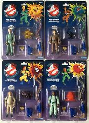 The Real Ghostbusters Lot Of 4 Egon Peter Winston Ray Kenner Classics 2020 Moc