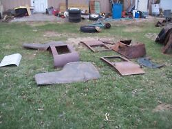 1924 1925 Model T Ford Coupe Body With Doors Jalopy A Trog Rat Rod Tub T Bucket